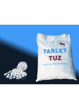 Tablet Tuz - Rafine Tablet Tuz 25 KG